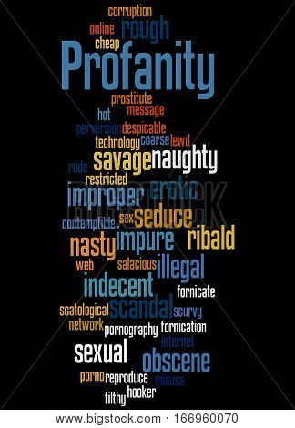 Profanity, Word Cloud Concept 9