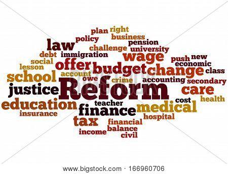 Reform, Word Cloud Concept 5