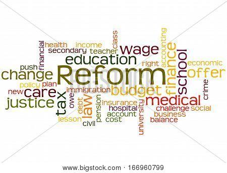 Reform, Word Cloud Concept 6