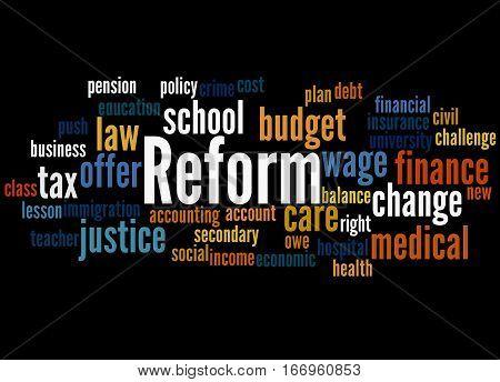 Reform, Word Cloud Concept 7