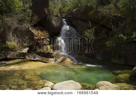 Ladies bath falls in Mount Buffalo, Victoria in Australia