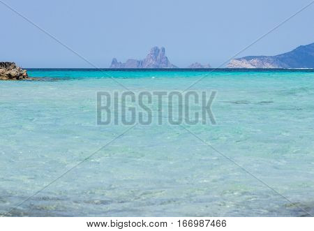 View From Ses Illetes Beach