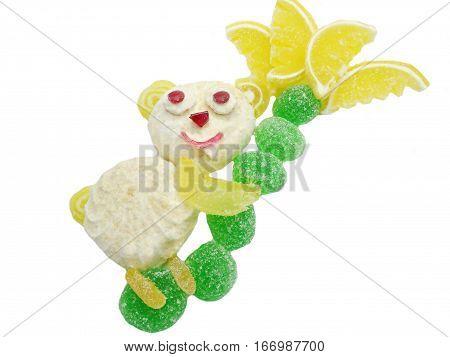 creative marmalade candy sweet child dessert koala bear form