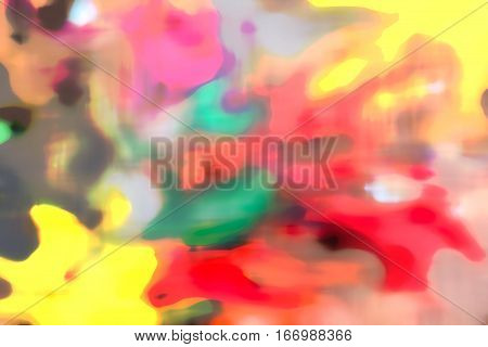 Abstract Colorful Watercolor For Background. Digital Graphic Art Painting.