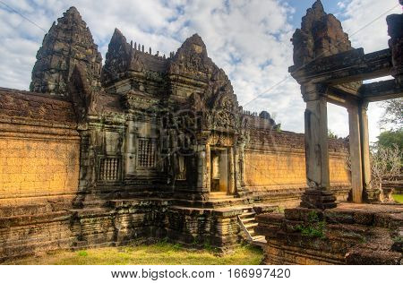 Built in the 12th century and contemporaneous to the more famous Angkor Wat Banteay Samre is a lesser known temple in the outskirts of Siem Reap