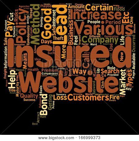 Insurance Leads how To Get Insurance Leads text background wordcloud concept