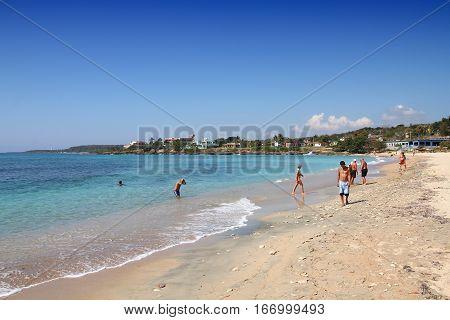 Cuba Beach Tourism