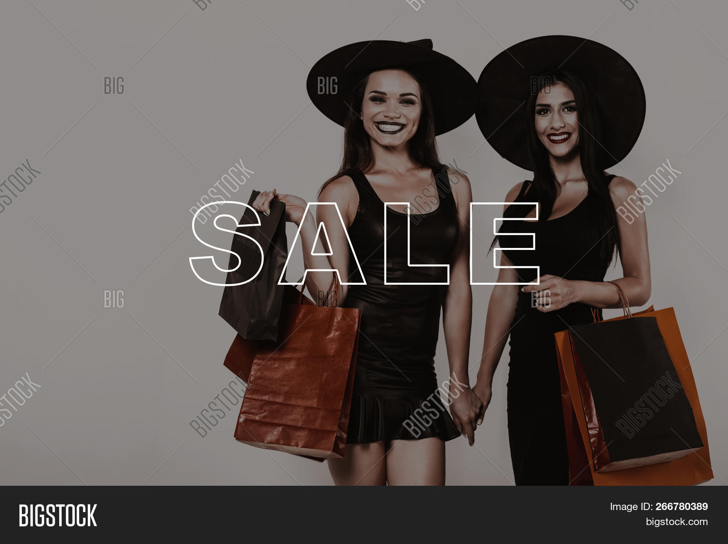 Halloween Party Packages.Lady On Sale Shop Image Photo Free Trial Bigstock
