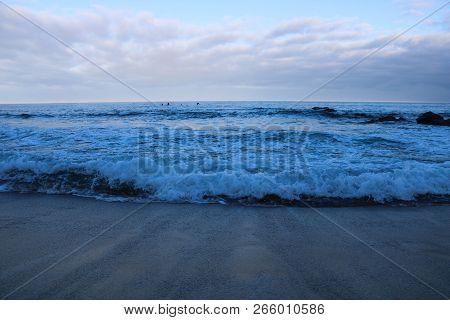 Shore Of The Ocean. Иeautiful Summer Shore