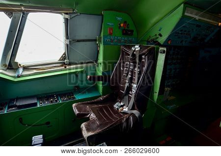 The Inside The Cockpit Of The Legendary  Aircraft, The World's First Supersonic Passenger Aircraft.
