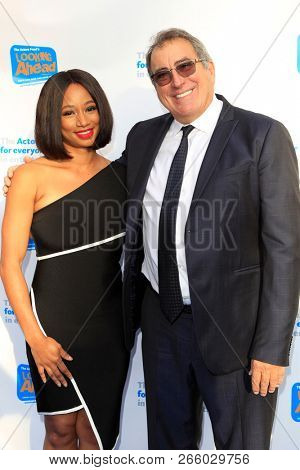 LOS ANGELES - OCT 28: Monique Coleman, Kenny Ortega at The Actors Fund's 2018 Looking Ahead Awards at the Taglyan Complex on October, 2018 in Los Angeles, California