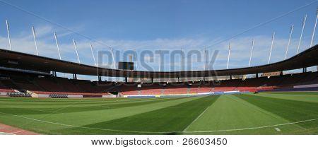 Letzigrund stadium in Zurich -- site of Euro 2008