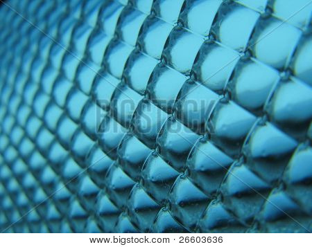 Blue bubble background