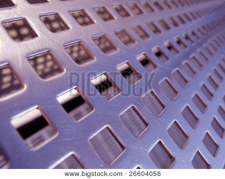 Steel mesh texture