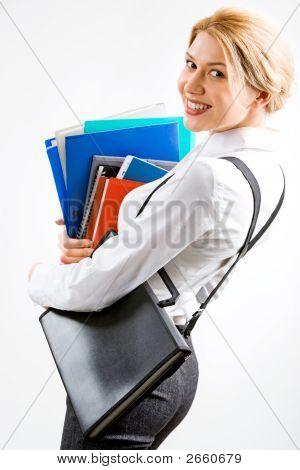 Smiling Secretary