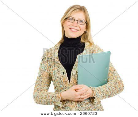 Cheerful Businesswoman