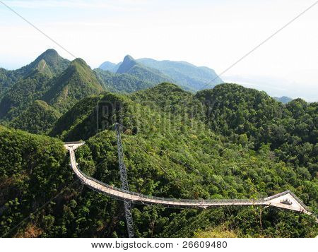 Langkawi hanging bridge