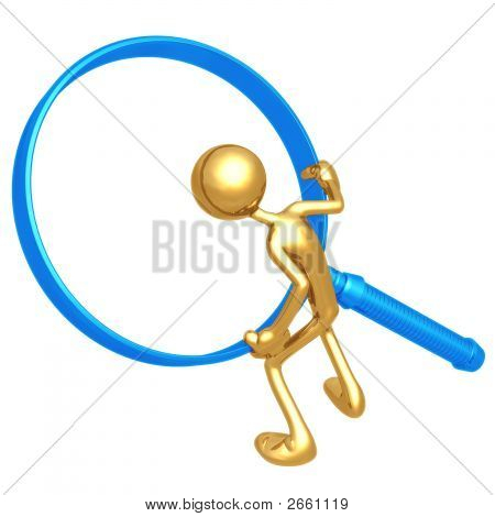 Magnifying Glass Frame