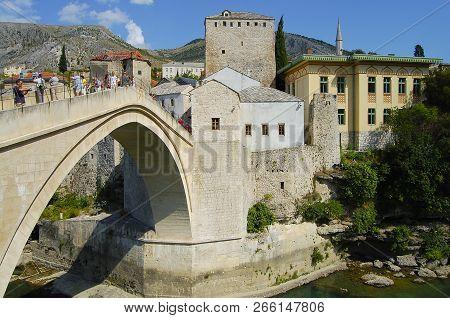 Rebuilt Bridge In Mostar - Bosnia Herzegovina