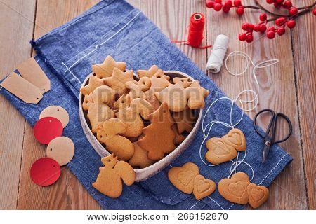 homemade Christmas gingerbreads - Christmas time