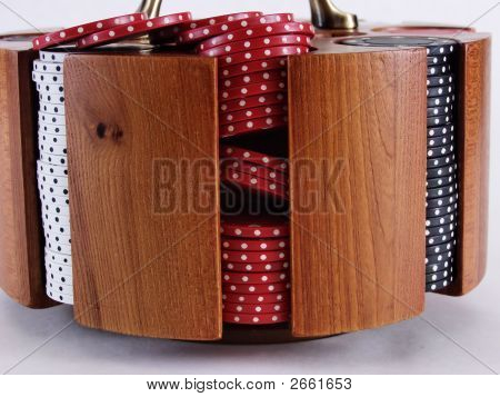 Poker Chip Caddy