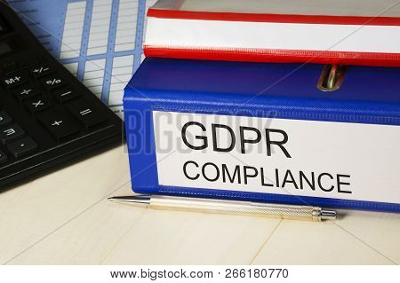 Gdpr Compliance. General Data Protection Regulation - 25 May 2018. Personal Data Safety, Cyber Priva