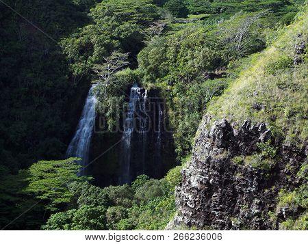 ʻŌpaekaʻa Falls Is A Waterfall Located On The ʻŌpaekaʻa Stream In Wailua River State Park On The Eas