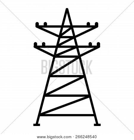 Electric Tower Icon Vector Photo Free Trial