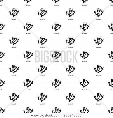 Lactobacilli Pattern Seamless Vector Repeat Geometric For Any Web Design