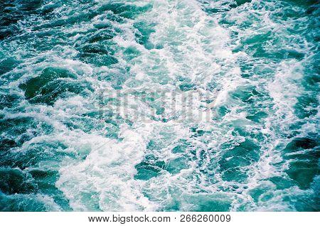Choppy Ocean Waves Sea Storm Water Background