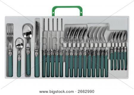 Six-Service Set Of Cutlery