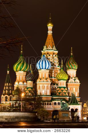 Hisorical Cathedral In Moscow