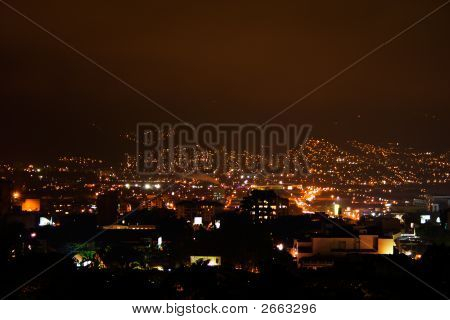 Night Lights At Bogota