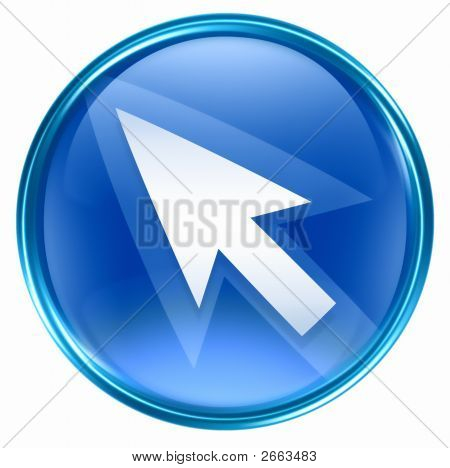 Arrow Icon Blue