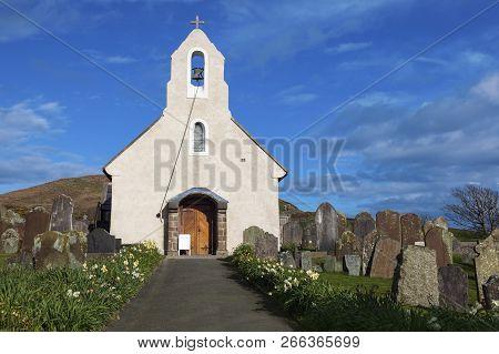 Kirk Maughold Church - Isle Of Man. Douglas, Isle Of Man.