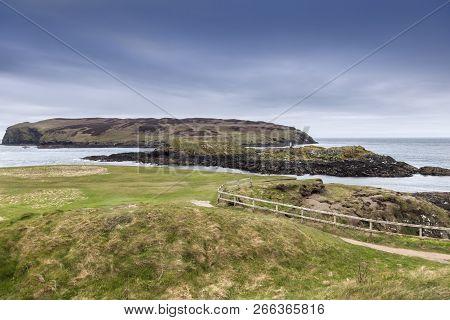 Kitterland Seen From Isle Of Man. Isle Of Man.