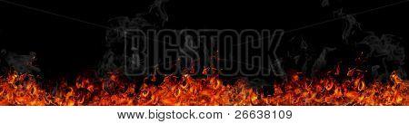 Fire flames