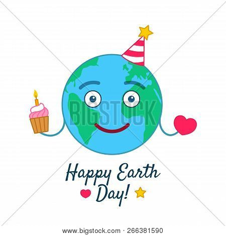 Miraculous Happy Earth Day Vector Photo Free Trial Bigstock Funny Birthday Cards Online Aeocydamsfinfo