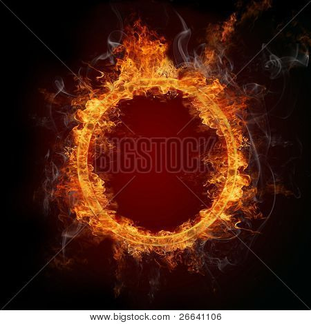 Fire ring poster