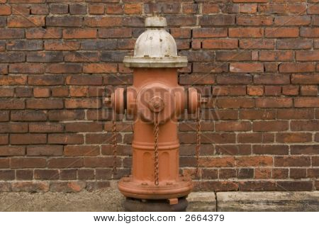 Fire Hydrant Wall Close
