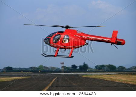 Red Helipcopter