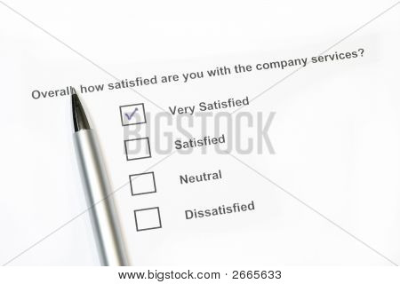 How Satisfied Are You Survey