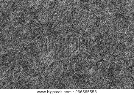 Darkgrey Felted Textile Texture Of A Place Mat