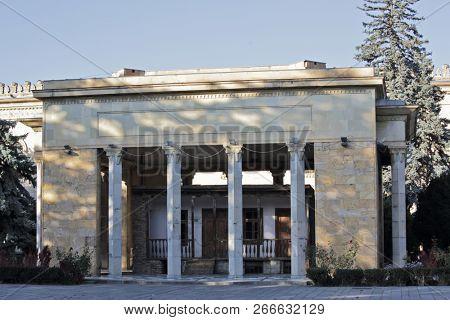 Gori, Georgia - OCTOBER 13, 2018. Stalin's birthplace and home, near Joseph Stalin Museum in Gori - Stalin's Homeland