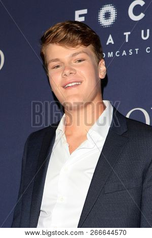 WEST HOLLYWOOD - OCT 29: Britton Sear arriving at the Premiere of Boy Erased at the Directors Guild of America on October 29, 2016 in West Hollywood, California