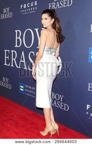WEST HOLLYWOOD - OCT 29: Blanca Blanco arriving at the Premiere of Boy Erased at the Directors Guild of America on October 29, 2016 in West Hollywood, California