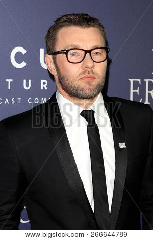 WEST HOLLYWOOD - OCT 29: Joel Edgerton arriving at the Premiere of Boy Erased at the Directors Guild of America on October 29, 2016 in West Hollywood, California