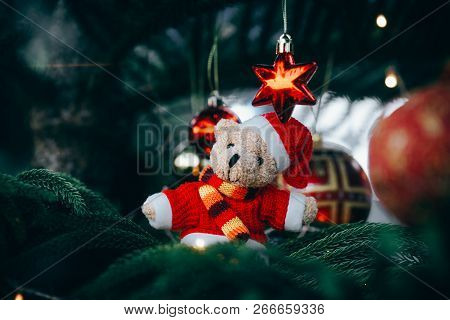 Christmas Decorations. Merry Christmas And Happy New Year