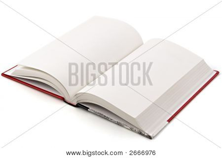 Book On White