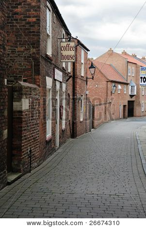 Small alley in England.